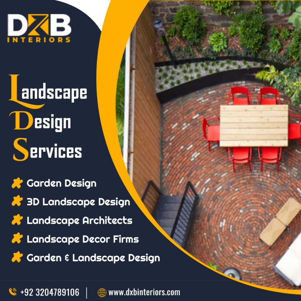 Hire Leading Landscape Design Services Company in Lahore, Islamabad | 3D Garden
