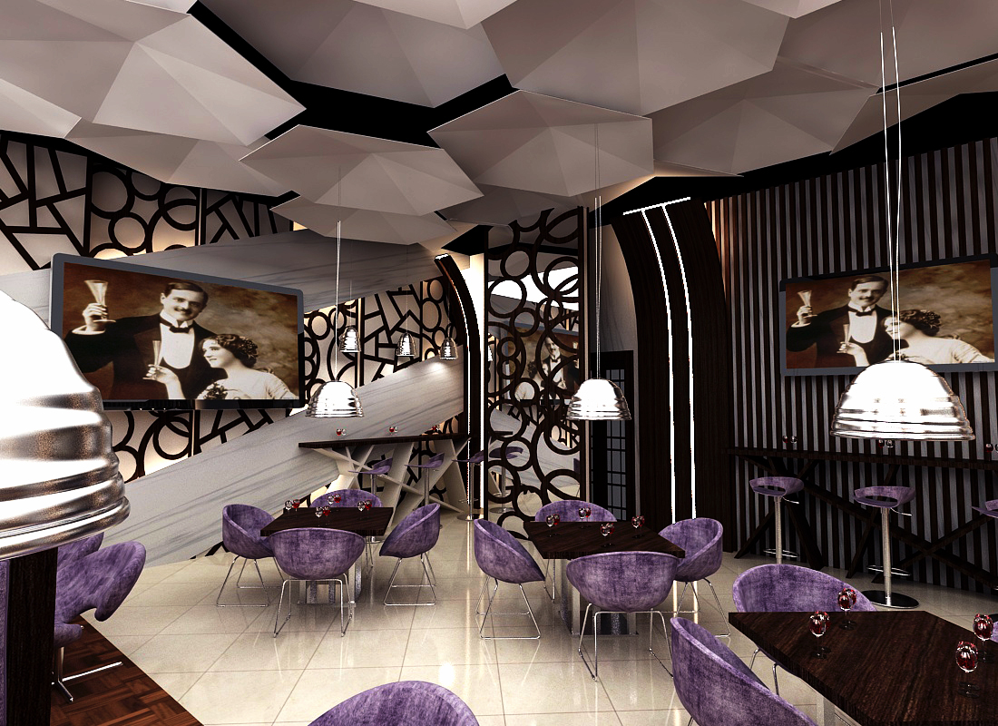 Bar Design Sadaf Delmon Hotel